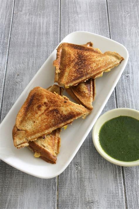 Toast Sandwich Veg Cheese Sandwich Recipe How To Make Veg Cheese