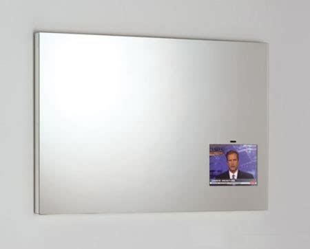 Bathroom Mirror Television Mirror Tv From Artelinea Spa For Bathroom Entertainment