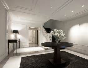 Benjamin Street Home Decor Entry Foyer Contemporary Entry Chicago By Dspace