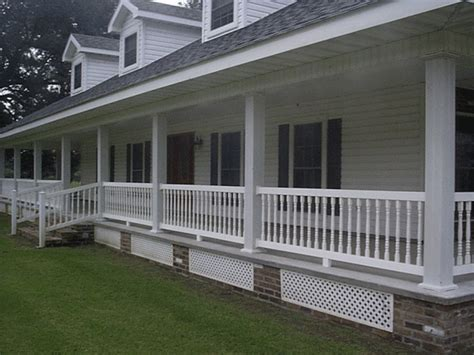 Porch Banisters by Porch Railing Ideas Finding The Right Design