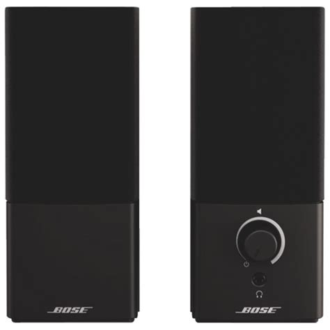 Bose Companion 2 Iii Bose Companion 2 Series Iii Multimedia Speakers Black
