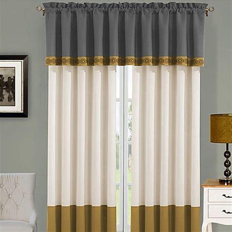 boho window curtains boho chic window curtain panel and valance bed bath beyond