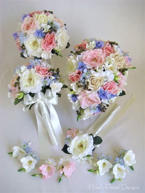 Wedding Flowers Silk by Artificial Wedding Flower Packages