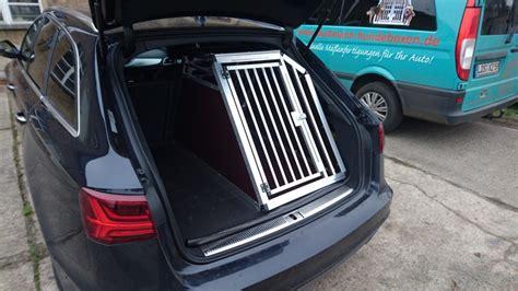 Hundebox Für Audi A4 Avant by Hundetransportboxen F 252 R Audi Faustmann Hundeboxen