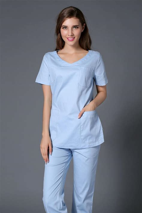 New Arifal Set Overall Sweety lab coat surgical cap 2017 new arrival 100 cotton sweet color hospital