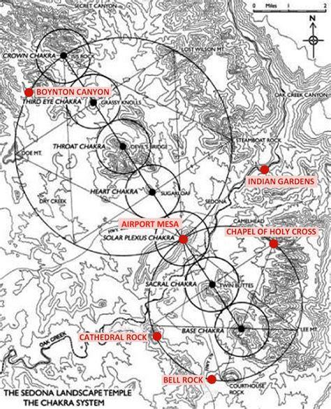 american vortex map map of vortexes in sedona sedona vortex map nicholas