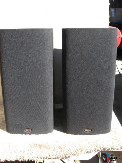 1 pair of klipsch sb 2 2 way bookshelf speakers photo