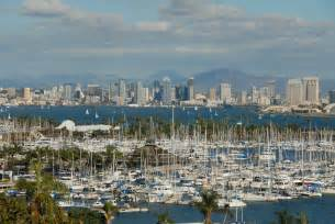 San diego bay is a recreational haven that attracts boaters from all