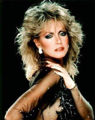 phots of donna mills curly frosted 90s hairstyle 1980년대 메이크업 네이버 블로그