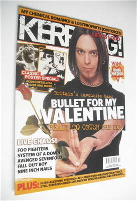 bullet for my cover kerrang magazine bullet for my cover 14