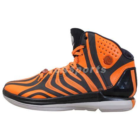 tiger basketball shoes adidas d 4 5 derrick tiger print 2014 orange carbon