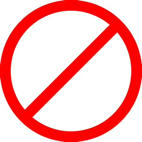 no smoking sign red circle image gallery no sign logo