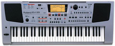 Keyboard Roland E50 301 moved permanently