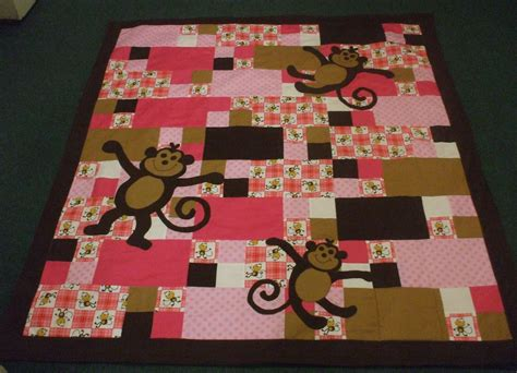 quilt pattern monkey monkey quilt is finished