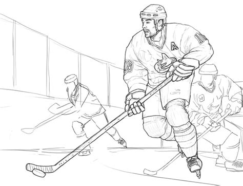 coloring pages for hockey printable hockey coloring pages az coloring pages