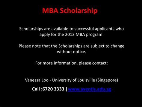 Louisville For Mba by Of Louisville Mba Singapore