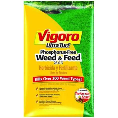 vigoro ultra turf 42 lb phosphorus free and feed