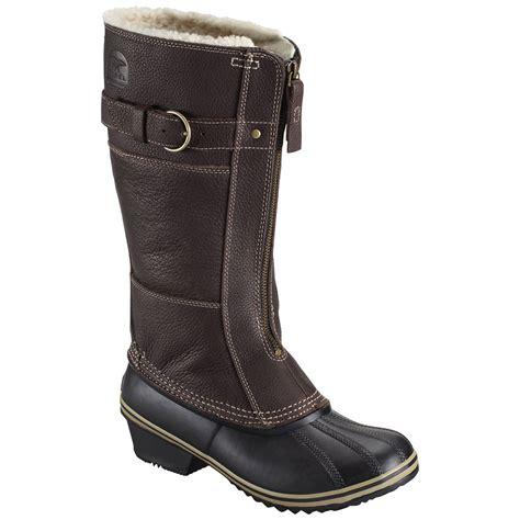 s winter boots sorel s winter fancy ii winter boots grizzly