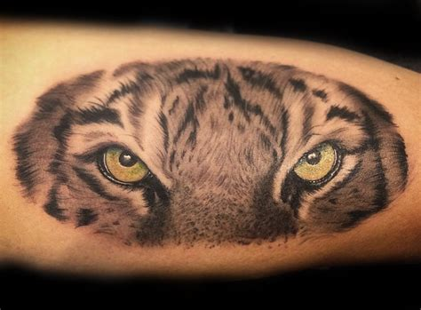 eye of the tiger tattoo tiger meaning and symbolism ink vivo