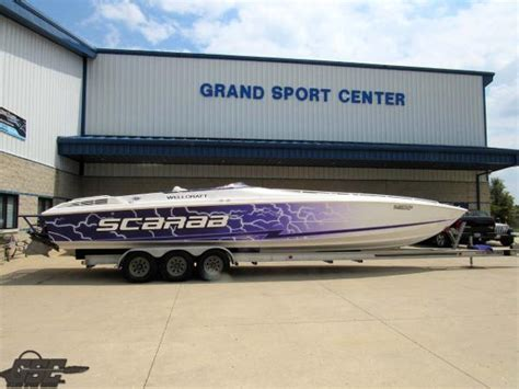 scarab speed boats for sale wellcraft 38 scarab boats for sale