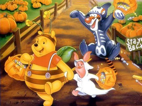 imagenes de halloween de winnie pooh cute halloween wallpapers wallpaper cave