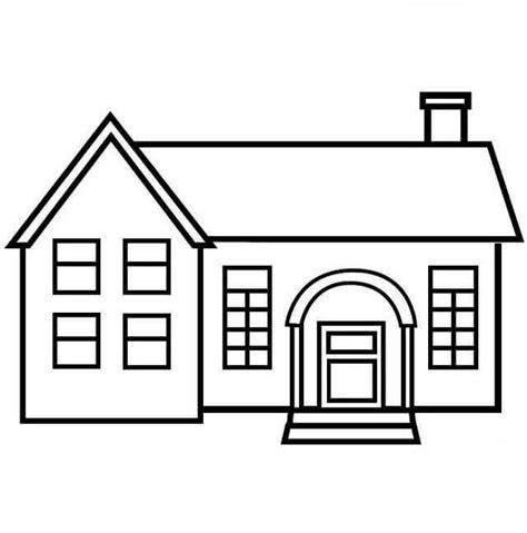imagenes de viviendas urbanas para colorear dibujos para colorear de casas