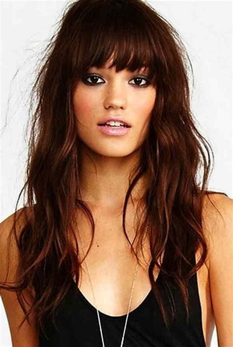 best 25 hairstyles for oblong faces ideas on pinterest oblong face haircuts best haircut for 15 ideas of long hairstyles with bangs for oval faces
