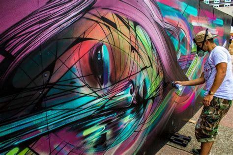 jaw dropping street art murals  french graffiti artist