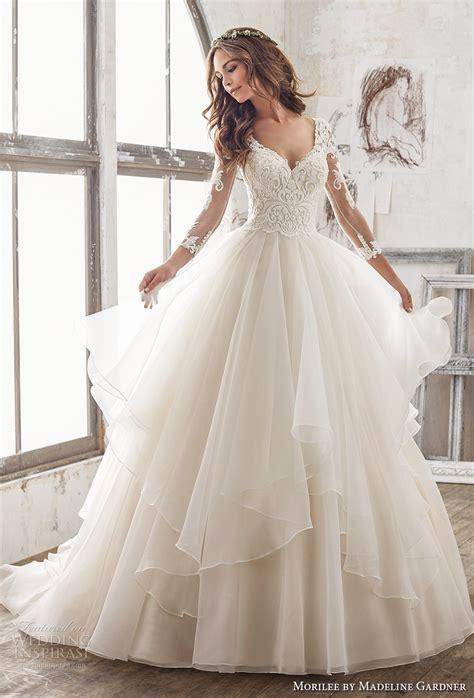 Morilee by Madeline Gardner Spring 2017 Wedding Dresses ? Blu Collection   Wedding Inspirasi
