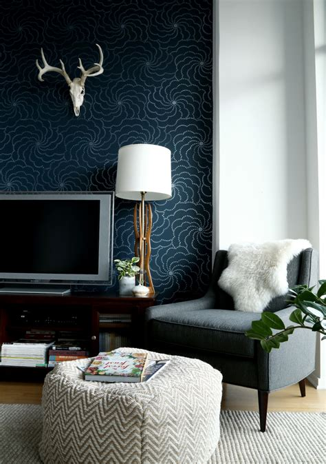 dark blue living room walls why dark walls work in small spaces design sponge