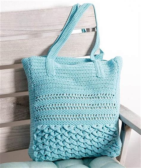 Handmade Bag Pattern - 30 easy crochet tote bag patterns diy to make