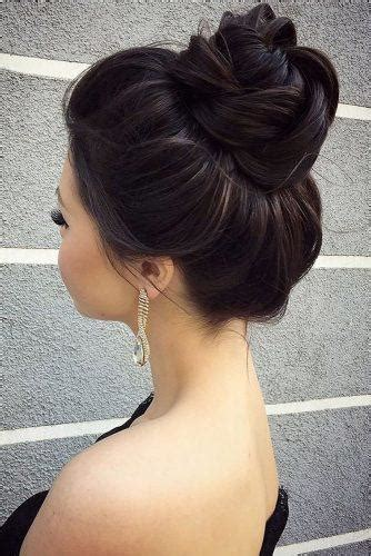 awesome wedding bun hairstyles page    wedding