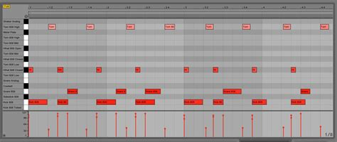 drum beat pattern producing harlem shake style track in ableton live ask