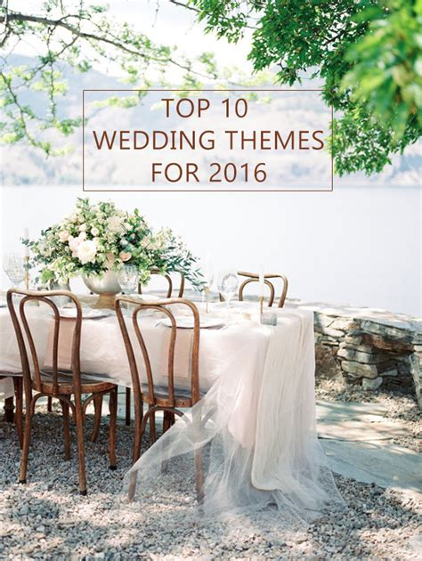 Wedding Theme Ideas by 10 Trending Wedding Theme Ideas For 2016