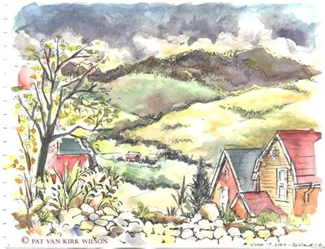 tutorial watercolor and ink 104 best watercolor pen ink images on pinterest
