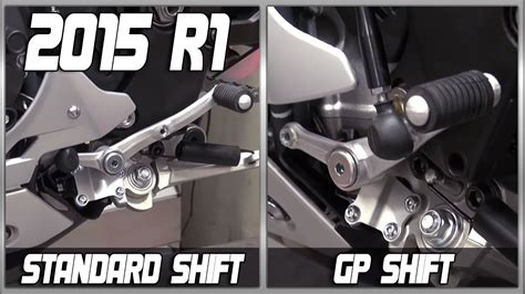 How To Change A Shifter by How To Change A 15 17 Yamaha Yzf R1 From Standard To Gp