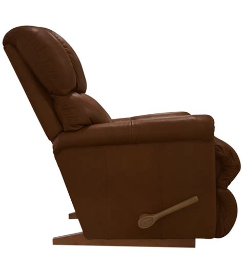 la z boy recliner cover pinnacle recliner with dark brown leatherette cover by la