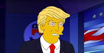 the simpsons predicted donald trump s presidency time