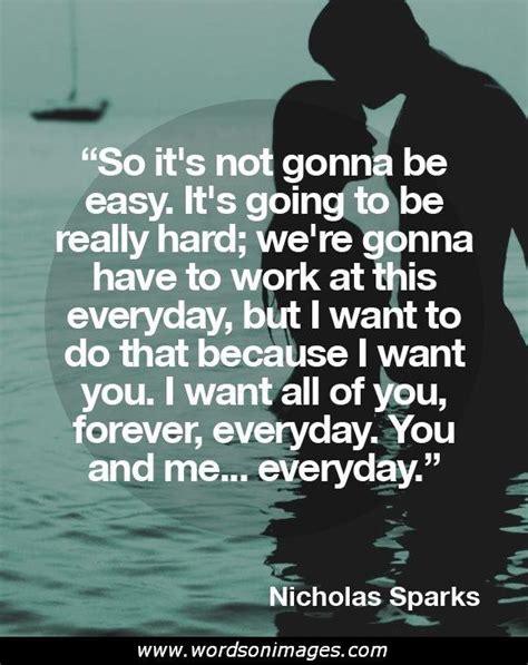 movie quotes nicholas sparks nicholas sparks quotes about love quotesgram