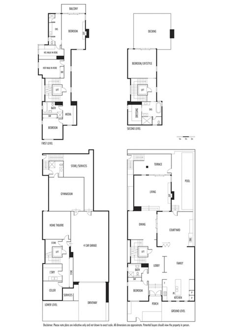 waterfront floor plans modern waterfront house at docklands melbourne australia
