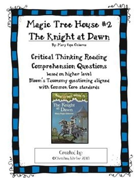 trees reading quiz for kids magic tree house 2 at text dependent comprehension questions trees magic tree