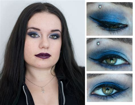 j adore le maquillage kat von d maquillage cynthia make up le cand 233 labre bleu blood is the new black