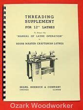 Atlas Lathe Manual Ebay