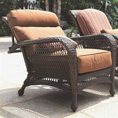 reclining patio chair with ottoman adjustable rocking