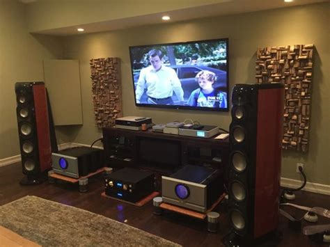 Living Room Acoustic Treatment by Acoustic Treatment For Entertainment Room