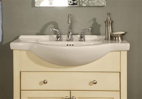 narrow depth bathroom vanities