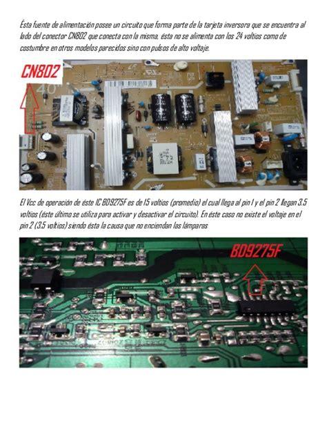 Ac Sharp Fu Y28e Y notas sobre el ic bd9275 f utilizado en tarjetas