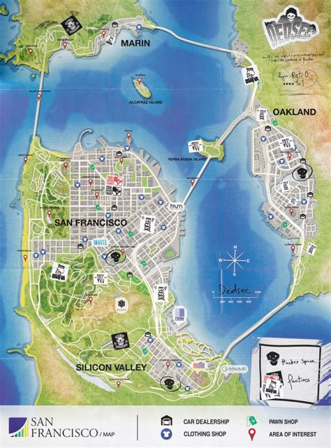 dogs 2 map watch dogs 2 san francisco edition 2016 playstation 4 box cover mobygames