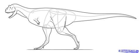 one t draw how to draw a carnotaurus carnotaurus dinosaur step by
