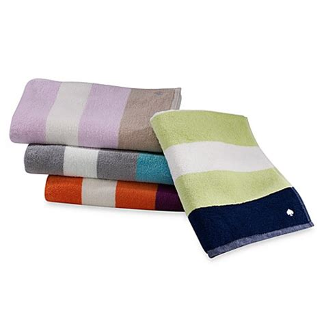 bed bath and beyond kate spade kate spade new york ivy stripe towels 100 cotton bed